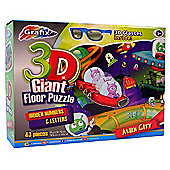 Grafix Alien City Giant 3D Floor Puzzle