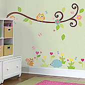 Woodland Branch Wall Stickers
