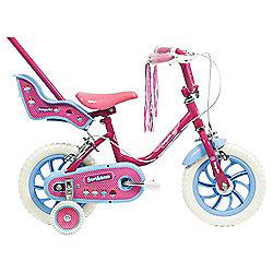"Sunbeam Fairycake 12"" Kids' Bike with Parent Handle, Designed by Raleigh"