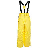 Falcon Kid's Extreme Ski Pants - Yellow