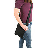 Artys Heavy Cotton Pouch Bag - Black