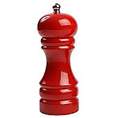 T & G Woodware 12101 Hevea Capstan Pepper Mill Red