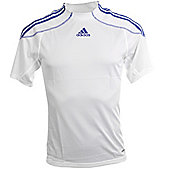 Adidas Campeon Short Sleeved Football Shirt Jersey - White