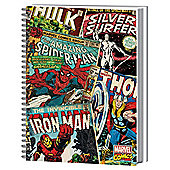 Marvel A4 Notebook