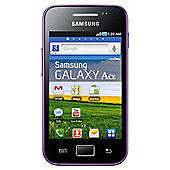 SIM Free Unlocked Samsung Galaxy Ace Purple