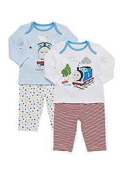 Thomas & Friends 2 Pack of Pyjamas - Multi