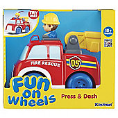 Keenway Press & Dash Vehicles Fire Engine