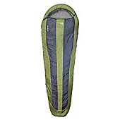 Yellowstone Single Trek Lite Classic Mummy Sleeping Bag Green