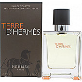 Hermes Terre D'Hermes Eau de Toilette (EDT) 50ml Spray For Men