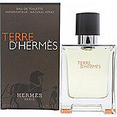 Hermes Terre D'Hermes Eau de Toilette (EDT) 50ml Spray For Men