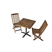 Teak Bistro Set 20 - Outdoor/Garden table and Chair set.