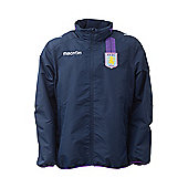 2013-14 Aston Villa Full Zip Rainjacket (Navy) - Navy
