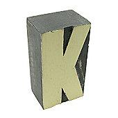 Block Letter - K