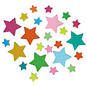 Stars Glow In The Dark Foam Stickers
