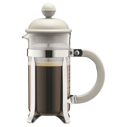 Bodum 3 cup Caffettiera Coffee Maker, White