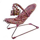 La-di-da Pink Dolphin Musical Cradling Bouncer