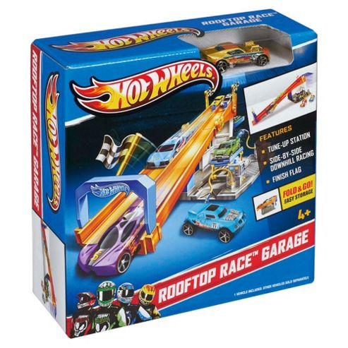 Hot Wheels Ready to Play Race Garage