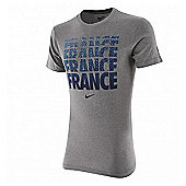 2014-15 France Nike Core Type Tee (Grey) - Grey