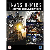 Transformers 1-4 DVD (Slim version) 4 disc