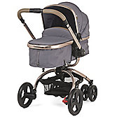 Mothercare Orb Pram and Pushchair - Grey Canvas