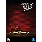 American Horror Story Seasons 1 & 2 (DVD Boxset)