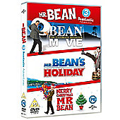 Mr Bean Film Triple: Mr Bean The Movie, Mr Beans Holiday, Merry Xmas Mr Bean (DVD)