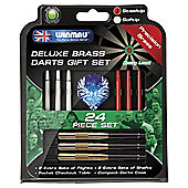 Winmau 24-Piece Deluxe Brass Darts Gift Set