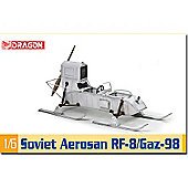 Dragon 75044 Soviet Aerosan Rf-8/Gaz-98 1:6 Military Model Kit