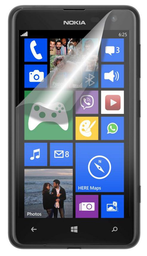 Tortoise™ Screen Protector, 2 Pack, Nokia Lumia 625. Clear