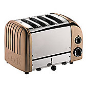 Dualit 47450 Vario 4 slice Toaster with Variable Browning in a stylish Copper