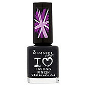Rimmel London I Love Lasting Finish Nail Polish 080 Black Cab