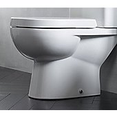 Tavistock Ion Soft Close Toilet Seat in White