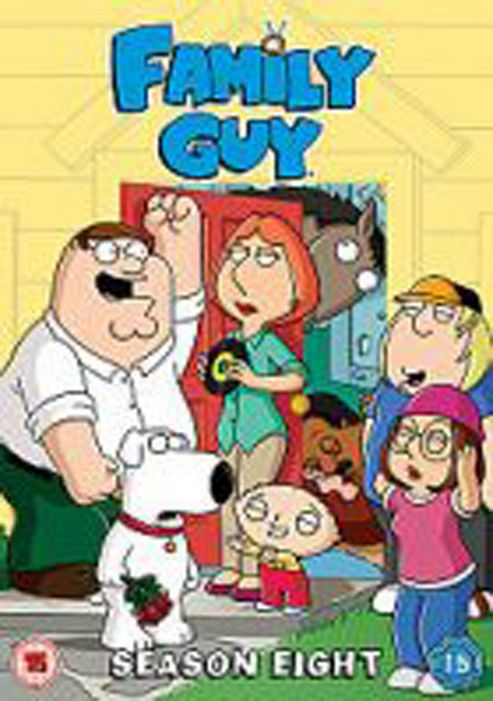Family Guy - Series 8 - Complete (DVD Boxset)