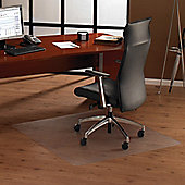 Floortex Ultimat Cleartex Polycarbonate Chair Mat for Use on Hard Floor Surfaces - 119cm x 89cm