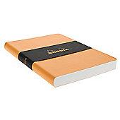 Orange Epure Book 14.8X21 120 Sh. Leather Imitation Cover 118310C