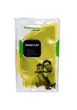 Tunturi Silicone Adult Swimming Cap - Yellow