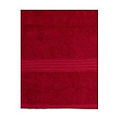Hotel Collection Zero Twist Hand Towel In Red