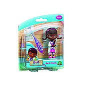 Doc McStuffins and Friends - Doc Mini Figure and Thermometer