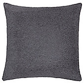 Plain Chenille Cushion Stone