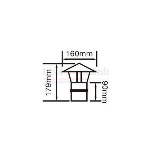 Firebird Chinaman Hat Cowl (80mm Diameter)