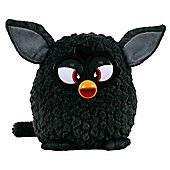 Furby 20cm Plush Soft Toy - Black (no Sounds)