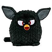 Furby 20cm Plush Soft Toy - Black (no Sounds)