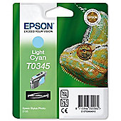 Epson T0345 Light Cyan Ink Cartridge for Stylus Photo 2100 Printer
