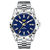 CAT Mens Stainless Steel Date Watch IN.141.11.626