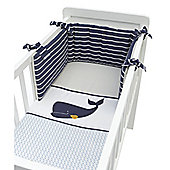 Mothercare B Baby Bedding Whale Bay Crib Bale