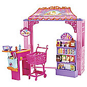 Barbie Malibu Avenue Shops Grocery Store Playset