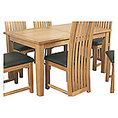 Elements Selby Oak Table - 152cm