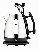 Dualit 72400 1.5L Cordless Jug Kettle Stainless Steel Trim Black
