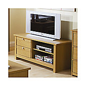Elements Fusion 109cm Plasma TV Stand - Oak