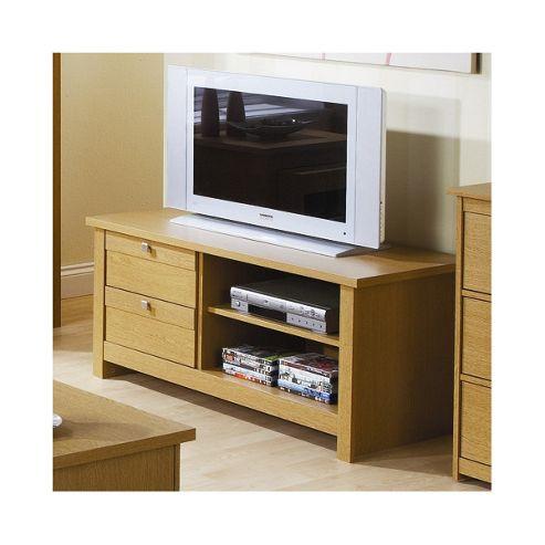 Elements Fusion 109cm Plasma TV Stand - Oak